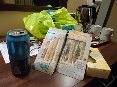 0604Oxford夕食