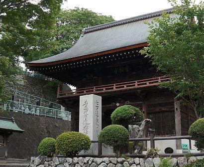 紫陽花の咲く岩本山・実相寺-5