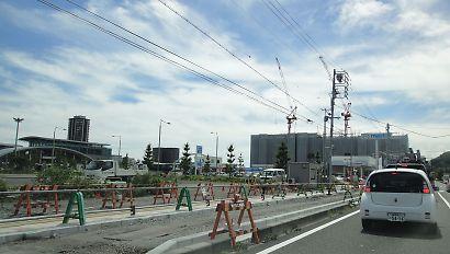 JR東静岡駅北側-1