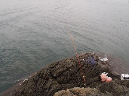 試し釣り2