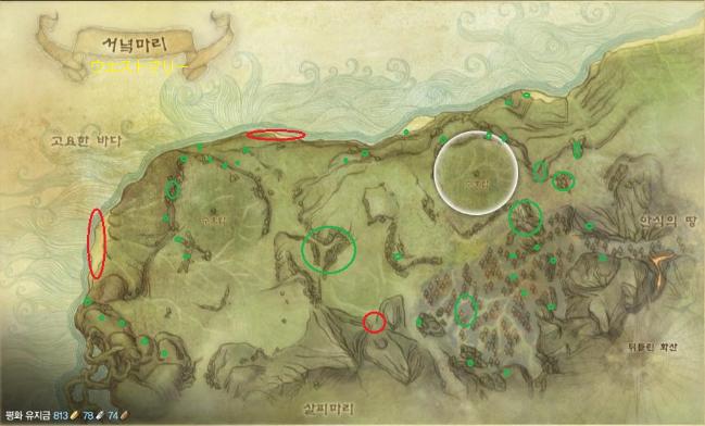 旧大陸遺物MAP2