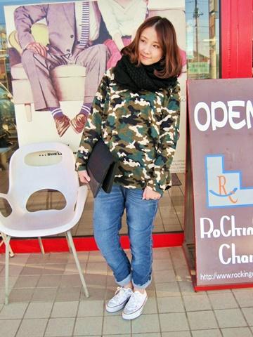 2014-11-19 15104011 迷彩BL コーデ 2