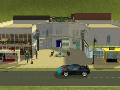 新しい商業施設
