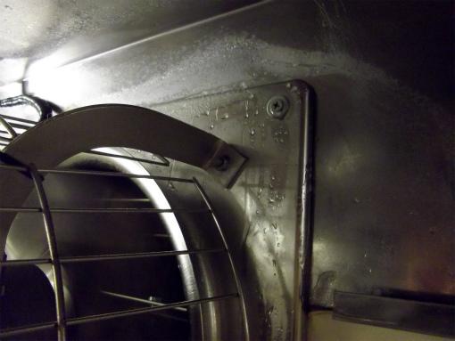 s-395-4換気扇 解凍
