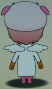 天使のブッヒー衣装(背面)