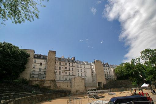 パリの円形闘技場