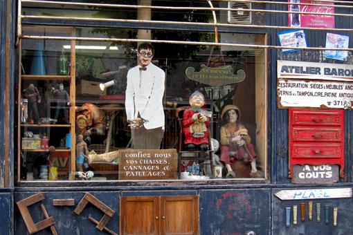 パリの雑貨屋