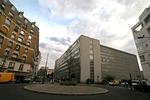 パリの広場