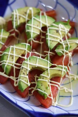 アボカドとトマトのサラダ2