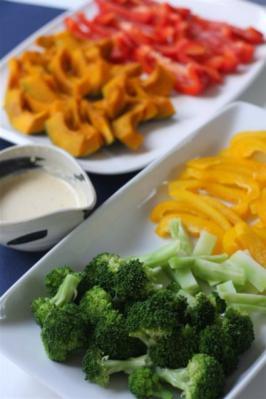温野菜のサラダ