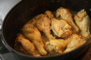 鶏手羽元の塩麴煮込み5