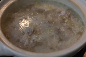 天然なめこの塩麴生姜鍋4