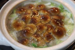 天然なめこの塩麴生姜鍋6