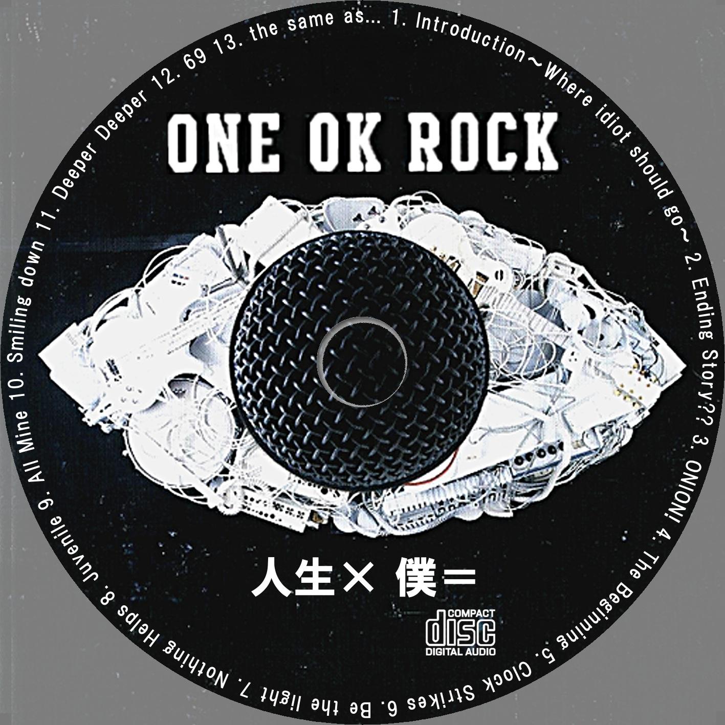 自作CD DVDラベル
