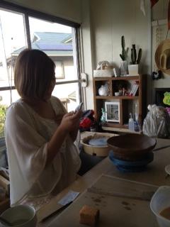 まみちゃん陶芸