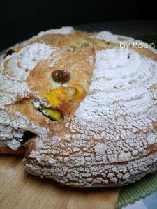 20110827お野菜カンパーニュbyレーズン酵母