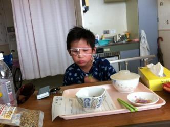 飯を喰う息子