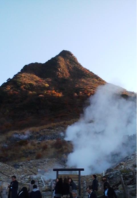 冠ケ岳噴煙21