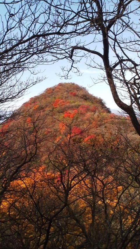 神山から見た冠ケ岳16