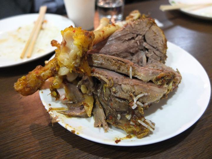 大阪ハラールレストラン、山羊