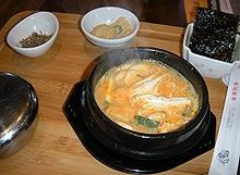 チングネ豆腐チゲ1