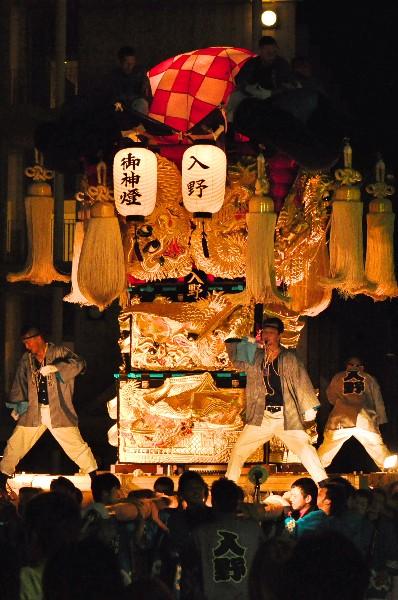 四国中央市 土居秋祭り ユーホール 入野太鼓台