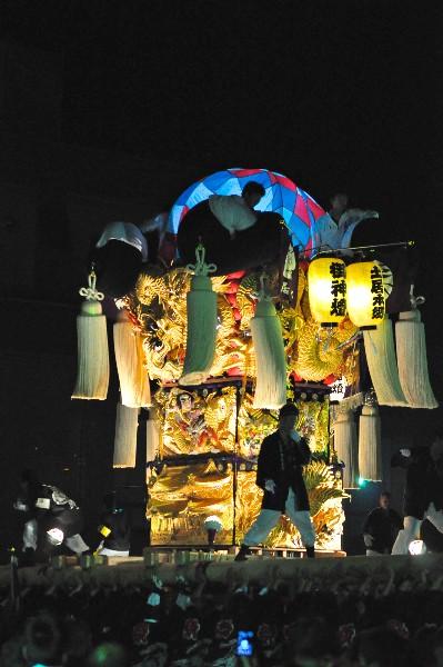 四国中央市 土居秋祭り ユーホール 土居本郷太鼓台