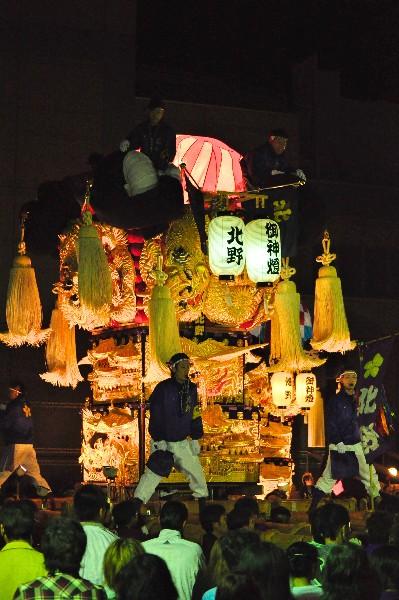 四国中央市 土居秋祭り ユーホール 北野太鼓台