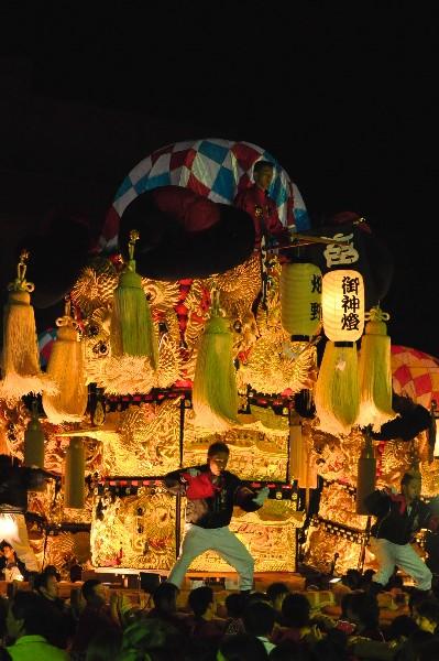 四国中央市 土居秋祭り ユーホール 畑野太鼓台