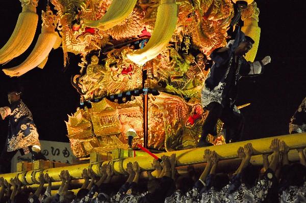 四国中央市 土居秋祭り JAうま土居中央支店 蕪崎太鼓台