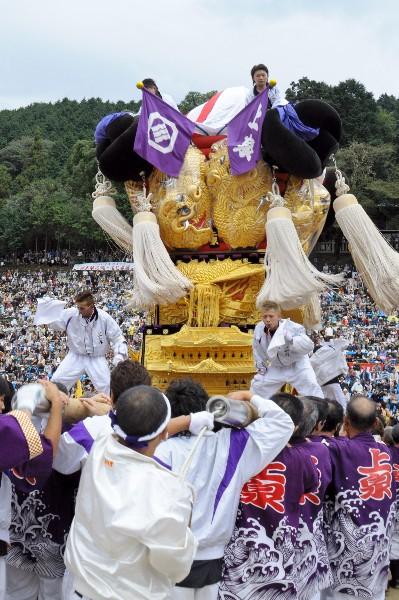 新居浜太鼓祭り 平成23年 山根グラウンド 上泉太鼓台