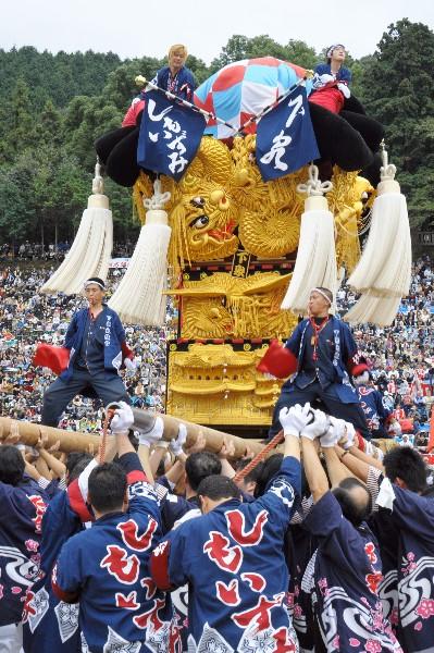 新居浜太鼓祭り 平成23年 山根グラウンド 下泉太鼓台