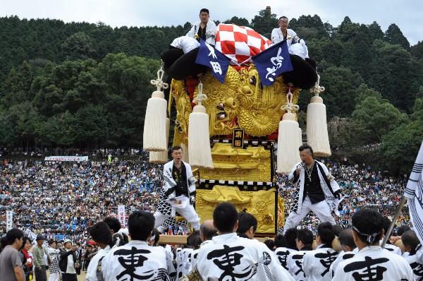 新居浜太鼓祭り 平成23年 山根グラウンド 東田太鼓台