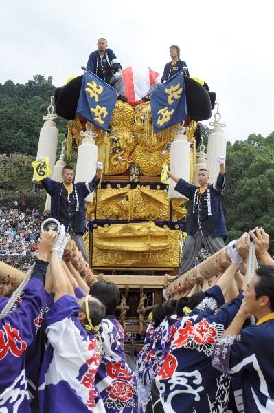 新居浜太鼓祭り 平成23年 山根グラウンド 北内太鼓台