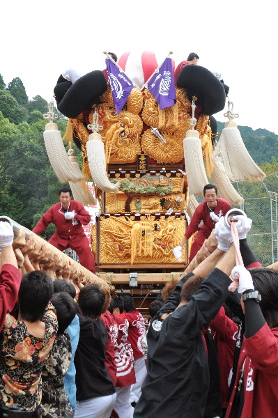 新居浜太鼓祭り 平成23年 山根グラウンド 喜光地太鼓台