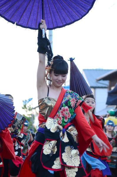 西条市壬生川 夏彩祭in壬生川 ダンス 新地通り