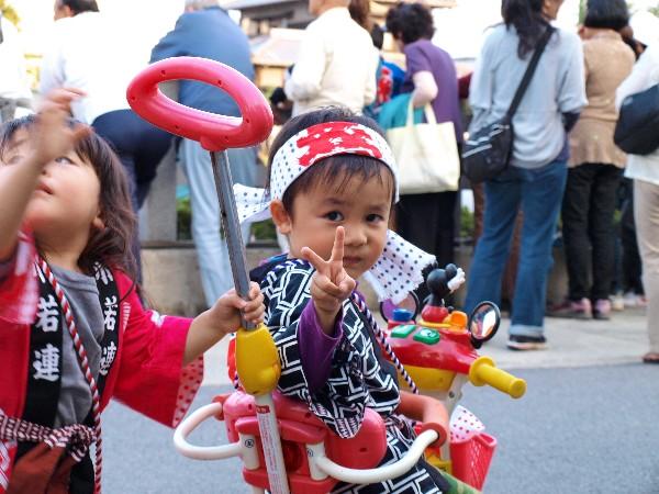 松山市 秋祭り 安城寺 川狩り 2012年10月7日