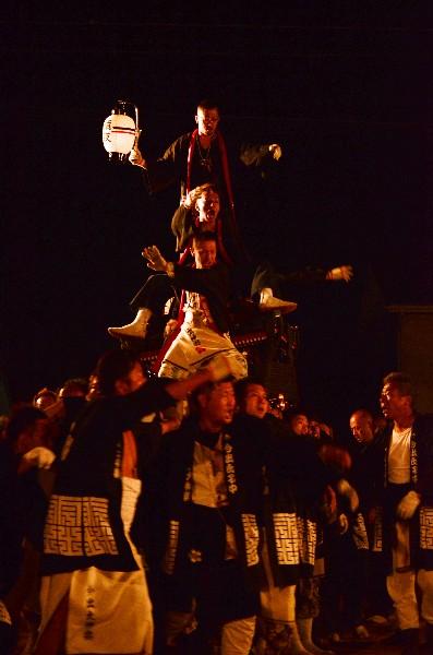 三嶋大明神社 秋季例大祭 2012年 今出(いまづ)大神輿