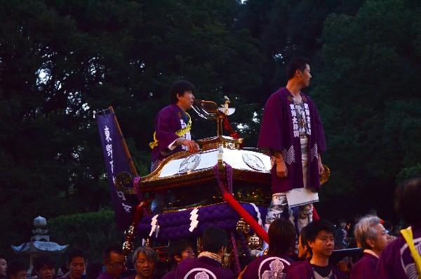 松山秋祭り 桑原八幡神社 宮出し
