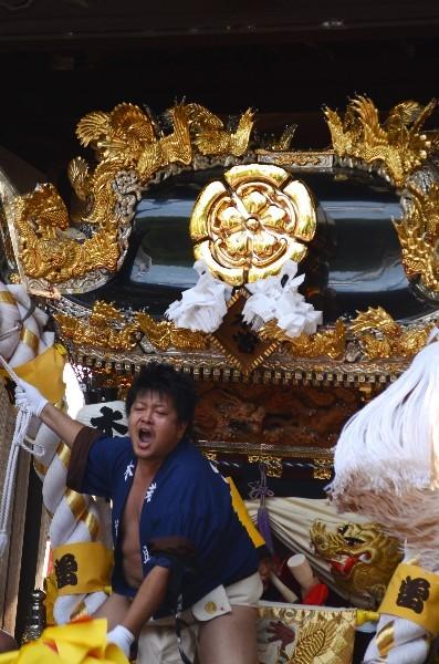 兵庫県高砂市高砂町東宮町 高砂神社の例祭 木曽町屋台