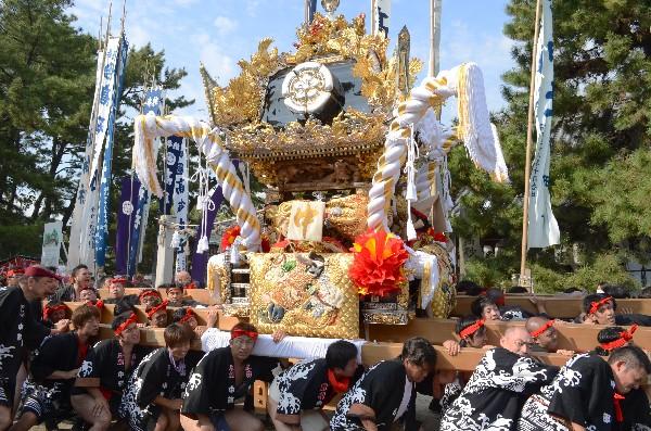 兵庫県高砂市高砂町  高砂神社例大祭 中部屋台