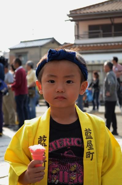 兵庫県高砂市高砂町 高砂神社秋祭り 宮入の風景