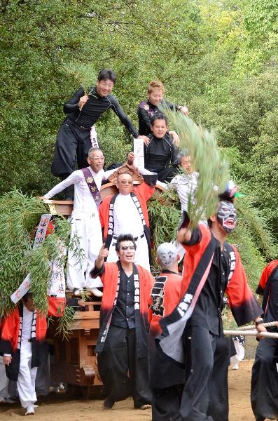 鴻八幡宮例大祭 倉敷市児島  祭りばやし  だんじり