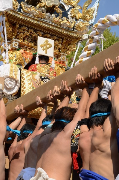 兵庫県姫路市白浜町 松原八幡神社  10月15日(本宮) 中 村