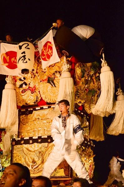 新居浜太鼓祭り 2012年 イオンモール新居浜口屋太鼓台