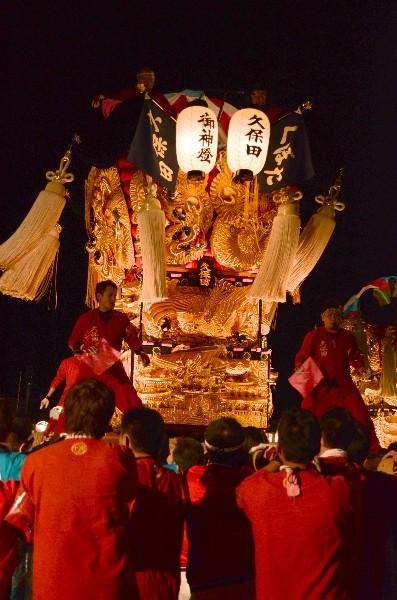 新居浜太鼓祭り2012年 川西地区 イオンモール新居浜 久保田太鼓台