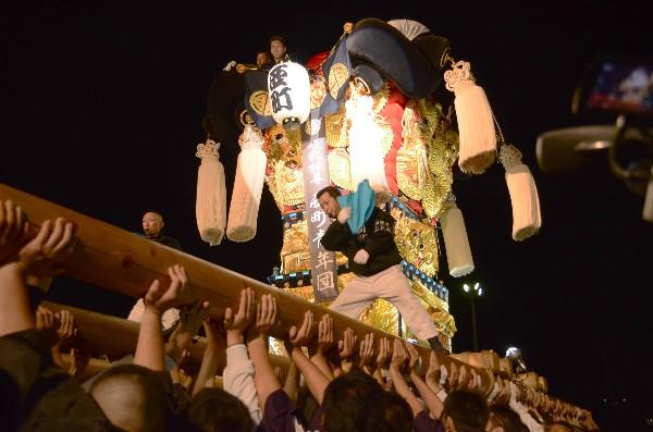 新居浜太鼓祭り 2012年 イオンモール新居浜 西町太鼓台