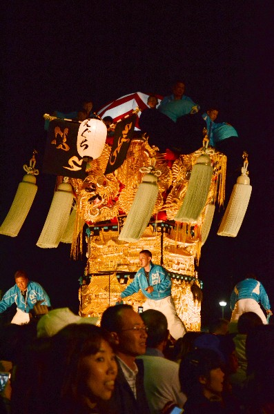 新居浜太鼓祭り 2012年 イオンモール新居浜 江口太鼓台