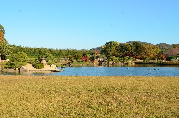 岡山県岡山市 後楽園 紅葉のころ