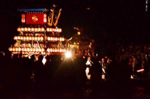 西条市伊曽乃神社祭西条市中野 加茂川 伊曽乃神社祭礼 川入 2012年10月16日礼2012年 加茂川 川入